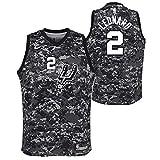 Outerstuff Kawhi Leonard San Antonio Spurs NBA Nike Youth Black City Edition Swingman Jersey