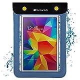 Waterproof Dry Tablet Sleeve Pouch Bag Case for Acer Iconia One 7 B1-7A0 / B1-790 / Barnes & Noble Nook GlowLight 3 / Voyo X7 / Huawei MediaPad T3 7 / Samsung Galaxy 7.0 / Lenovo Tab E7 (Blue)