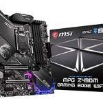 MSI MPG Z490M GAMING EDGE WIFI Gaming Motherboard (LGA 1200, Intel 10th Gen, M.2, USB 3.2 Gen 2, DDR4, Wi-Fi 6, SLI, CFX…