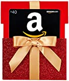 Amazon.com $40 Gift Card in a Gift Box Reveal (Classic Black Card Design)