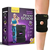 Knee Brace for Meniscus Tear | Supports and Relieves PCL, ACL, LCL, MCL, Arthritis, Tendonitis Pain | Open Patella Dual Stabilizers | Neoprene Brace |Non-Slip Straps