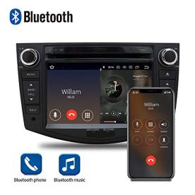 Car-Stereo-Radio-in-Dash-Navigation-for-Toyota-RAV4-2006-20127-inch-HD-Touchscreen-Android-100-Double-Din-DVD-Player-Bluetooth-Build-in-Carplay-with-Rear-View-Camera32G-SD-Card35mm-Mic