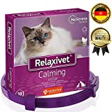 Relaxivet Calming Collar For Cats and Small Dogs - Reduce Anxiety Your Pets - The Best Replacement for Calming Chews Treats Drops Plug In