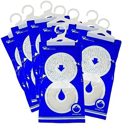 Offerta 8 Deumidificatori Buste Anti Umidità E Purificatore D Aria 235 Gr A Sacchetto My Dehumidifier For Wardrobe Per Eliminare Le Muffe Sui Muri