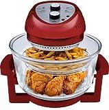 Big Boss Oil-less Air Fryer, 16 Quart, 1300 watt, Red