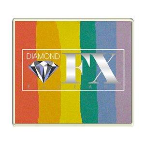 Diamond FX 50g Split Cake Face Paint ~ Blurred Lines (RS50-4) 5135M4g1jdL