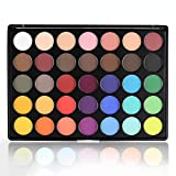 Matte Eyeshadow Palette, 35 Bright Colors All Matte Eyeshadow Makeup Pallete - Long lasting and High Pigment Silky Powder No shimmer Eye Shadow Cosmetics Set #35Y