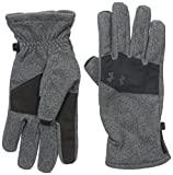 Under Armour Men's ColdGear Infrared Fleece 2.0 Gloves, Black (001)/Black, X-Large