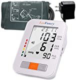LotFancy Upper Arm Blood Pressure Monitor, 180 Readings Memory, 2-Users, Digital BP Monitor Cuff with Talking Function, Upper Arm Cuff (9'-13'), Automatic BP Machine with Large LCD Display