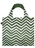 LOQI Elements Wood Reusable Shopping Bag, Multicolor
