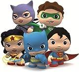 DC Comics Little Mates Superman Figurine And Puff Sticker