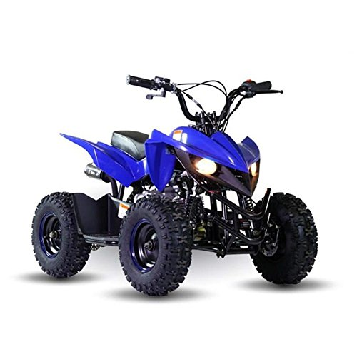50cc Kids Mini ATV Quad 4 Wheeler Automatic Gas-Powered Children Titan Four Wheers