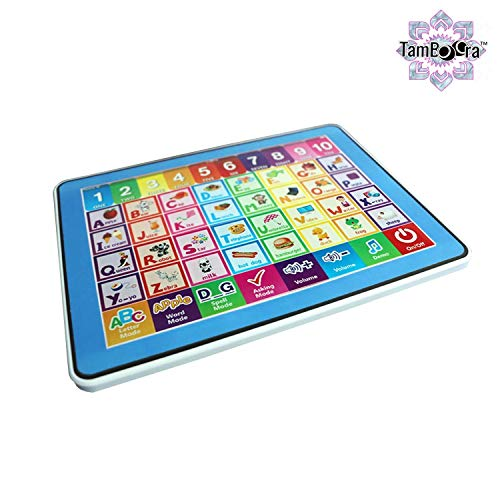 DUL DUL ® Educational Y Pad Tablet for Kids Kids Laptop, Touch Sounds, Music, Maths Quiz etc 10