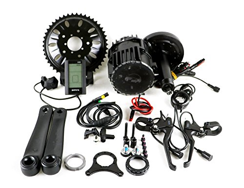 Bafang BBSHD BBS03 1000W Bottom Bracket width:68mm 8fun Mid-Drive Motor Conversion Kits with integrated Controller