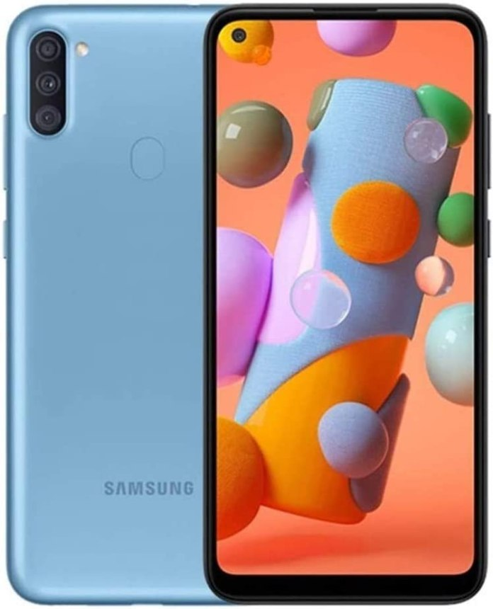 Amazon Com Samsung Galaxy A11 6 4 A115m Ds 32gb 2gb Ram Gsm Only No Cdma International Version No Warranty Blue