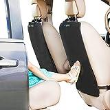 Kick Mats - 2 Pack - Premium Quality Car Seat Protector Mat...