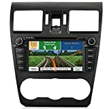 AIMTOM In-dash GPS Navigation Android Stereo Bluetooth DVD CD Deck 7' Touch Screen AV Receiver FM AM Radio USB SD Multimedia Player Built-in Wi-Fi Head Unit for 2014 2015 2016 Subaru Forester