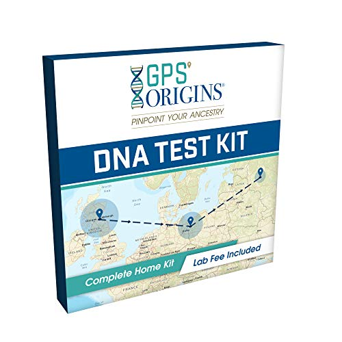 GPS Origins Complete DNA Test for Ancestry - Pinpoint More Precisely Where Your DNA Began for Your Maternal & Paternal Lineage & Get DNA Migration Routes + A Vibrant Picture of Your Ancestors