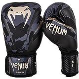 Venum Impact Boxing Gloves - Dark Camo/Sand - 16oz