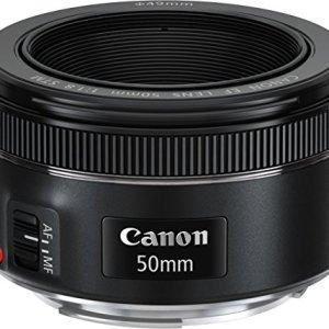 Canon EF50MM F/1.8 STM Lens for Canon DSLR Cameras