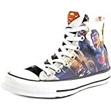 Converse Unisex Superman Flight DC Comics White/Black (05.5)