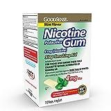 GoodSense Nicotine Polacrilex Gum 4mg, Mint, 110-count, Stop Smoking Aid, GoodSense Smoking Cessation Products