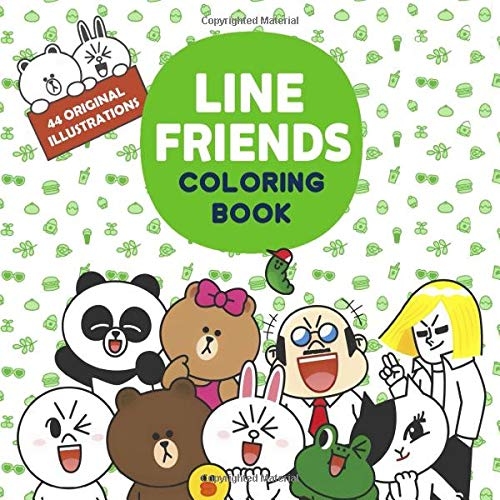 Line Friends Coloring Book Line Friends Coloring Pages For Everyone Adults Teenagers Tweens Older Kids Boys Girls Practice For Stress Relief Relaxation Kim Emily G 9781699422731 Amazon Com Books