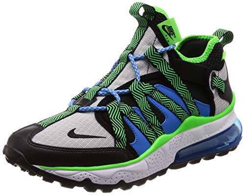 Nike Mens Air Max 270 Running Shoes, Black/Black/Phantom/Photo Blue, Size 11.0