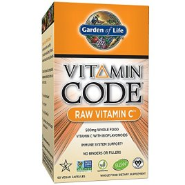 Garden of Life Vegan Vitamin C – Vitamin Code Raw C Vitamin Whole Food Supplement