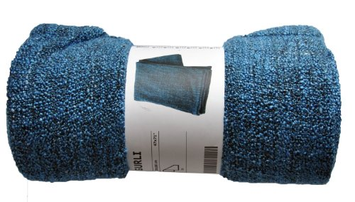 Ikea Gurli Throw Blanket Soft Blanket Blue 71x47 Couch Throw Blue 1 Amazon In Home Kitchen
