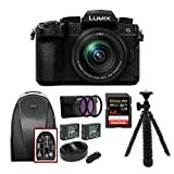 Panasonic LUMIX G95 20.3MP Mirrorless Camera with 12-60mm Lens VideoMic Go Bundle (Includes Rode VideoMic Go and Video Backpack)
