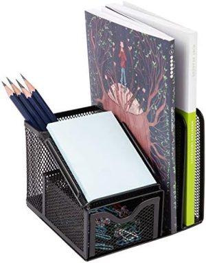 AmazonBasics Compartment Storage, Black Steel