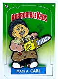 Magic Marker Art Horrorible Kids - Mass A. Carl - Limited Edition Enamel Pin