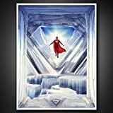 QMx Superman: Fortress of Solitude Art Print