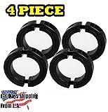 5/8' Bore Double Split (0.63) Shaft Collar Black Oxide Set Screw Style (4 PCS)