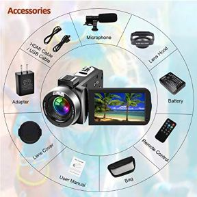 SAULEOO-Video-Camera-Camcorder-4K-30MP-Digital-Camcorder-Camera-with-Microphone-Ultra-HD-Vlogging-Camera-with-Remote-Control3-in-Touch-Screen
