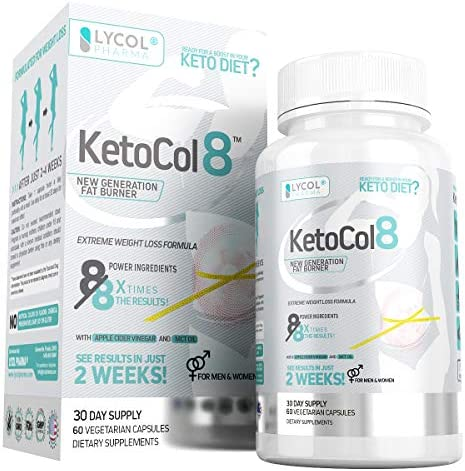 KetoCol8 Keto Pills with Apple Cider Vinegar Capsules BHB Salts for Women and Men 15 Billion CFU Ultimate Keto Diet Supplement Triggers Ketosis Boost BHB Production and Utilizes Fat for Energy 3
