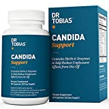 Dr Tobias Candida Support - Extra Strength Candida Cleanse - with Herbs & Enzymes