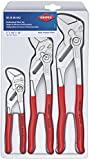 KNIPEX Tools 00 20 06 US2, Pliers Wrench 3-Piece Set