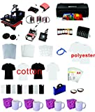 8in1 Professional Sublimation Heat Transfer Machine Epson Printer 1430...