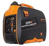 WEN 56200i Super Quiet 2000-Watt Portable Inverter Generator, CARB Compliant