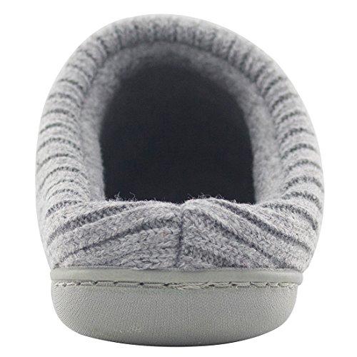 Rockdove Womens Sweater Knit Memory Foam House Slippers Wcute