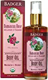 Badger Rose Body Oil - 4 fl oz Glass Bottle