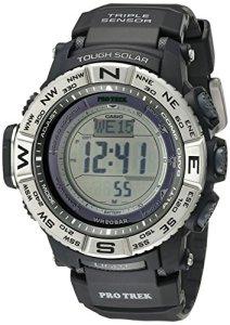 Casio Men's Pro Trek PRW-3500-1CR Solar Powered Atomic Resin Digital Watch