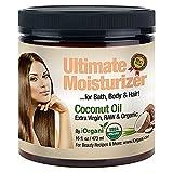 Iorgani Raw Virgin Organic Coconut Oil for Body, Skin, Scalp and Hair Growth