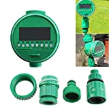tkin LCD Water Timer Electronic Garden Plant Automatic Watering Irrigation System