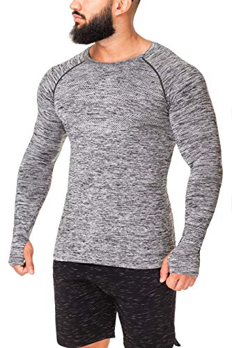 Kamo Fitness Long Sleeve Top - Baselayer That Will Keep You Warm & Active.Performance Fit & Quick-Drying Fabric. 1 Fashion Online Shop Gifts for her Gifts for him womens full figure