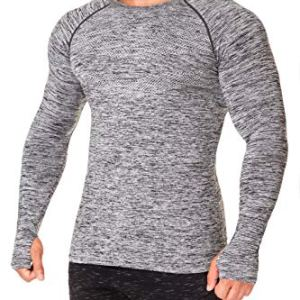 Kamo Fitness Long Sleeve Top - Baselayer That Will Keep You Warm & Active.Performance Fit & Quick-Drying Fabric. 4 Fashion Online Shop Gifts for her Gifts for him womens full figure