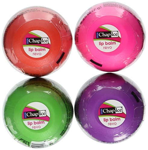Chap Ice Lip Balm, Assorted Flavors, 0.25 oz, 16 ct