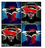 Batman Superman Movie Poly Folders - 4 Pack